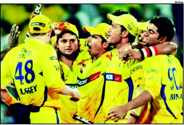 CSK celebrates consecutive victory in IPL