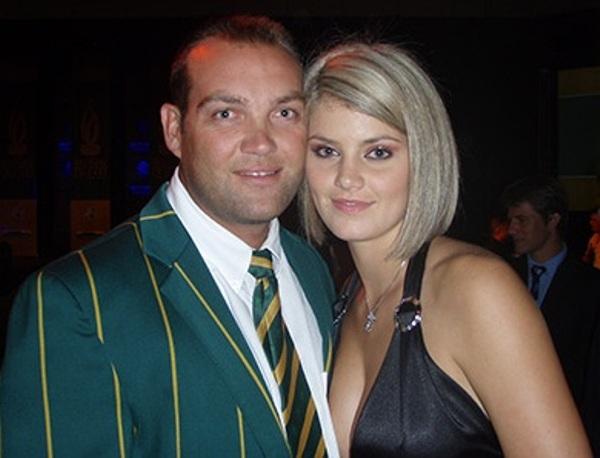 Jacques Kallis Girlfriend Jacques Kallis with his