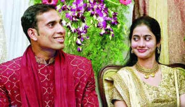 Photo Album Of Vvs Laxman And His Wife Saijala