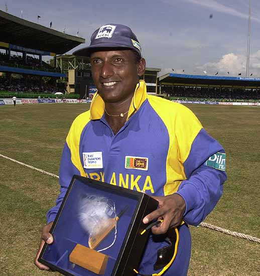 Aravinda De Silva was selected=