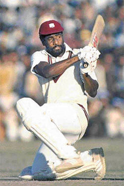 Vivian Richards was the best ever batsman against genuine fast bowling