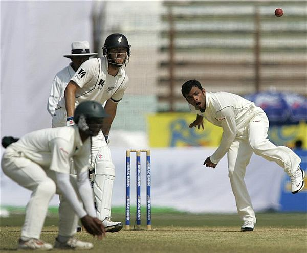 Abdur Razzak has won the man of the match award on his ODI debut