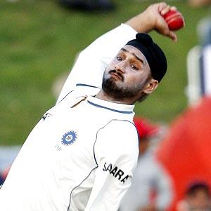 Harbhajan Singh Bowling Doosra