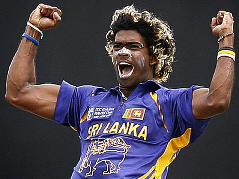 Lasith Malinga is a specialist fast bowler with a rare round-arm action