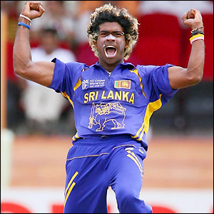 Lasith Malinga is known for his sharp bowncers