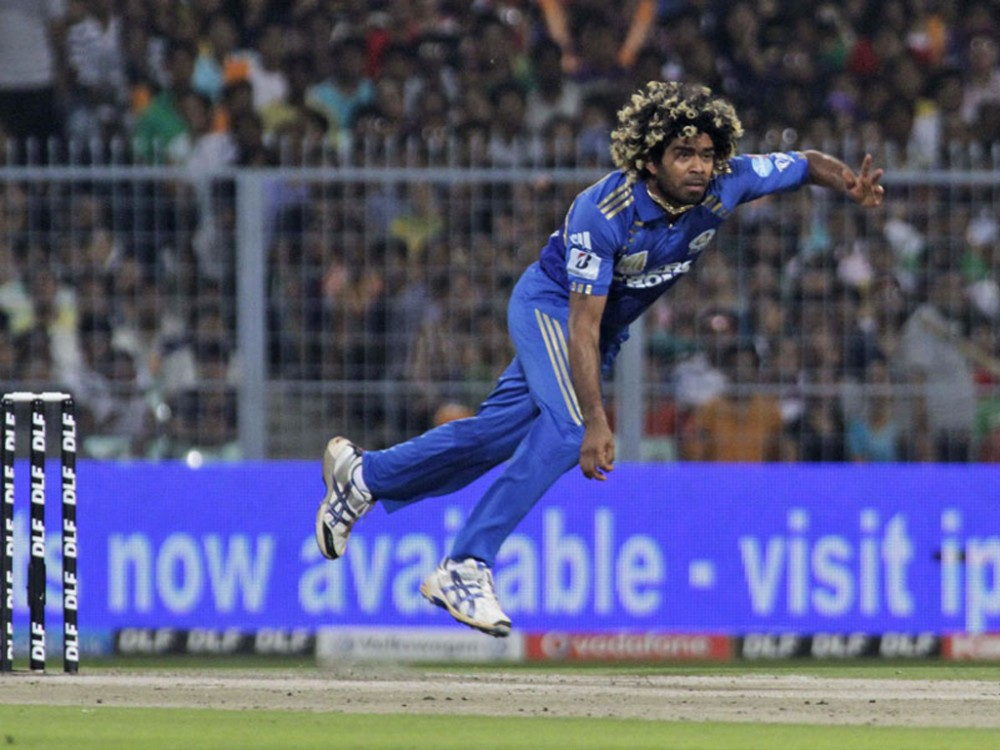 Lasith Malinga's round arm action makes him a specialist fast bowler.