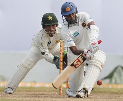 Thilan Samaraweera is well known for his solid right-handed batting