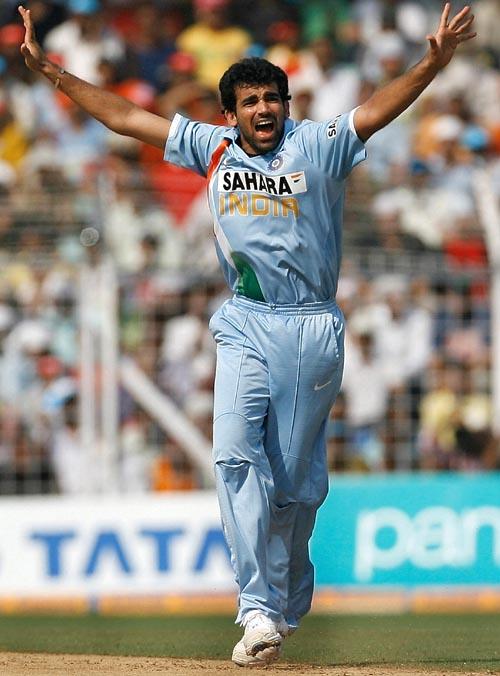 Zaheer Khan has taken 271 ODI wickets at an average of 28.83