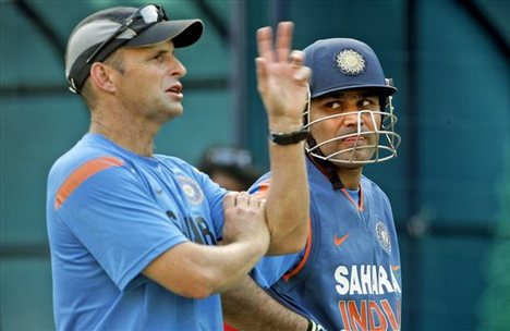 Gary Kirsten was the coach of the Indian cricket team when they won their 2011 World Cup