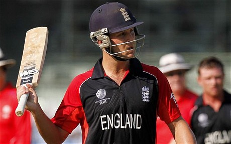 Jonathan Trott made his ODI debut in 2009 against Ireland