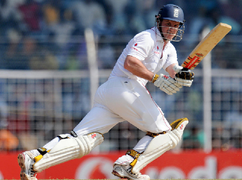 Andrew Strauss is a fluent left-handed opening batsman of England