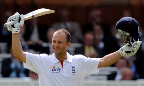 Jonathan Trott was regarded as an ECB Cricketer of the Year in 2011