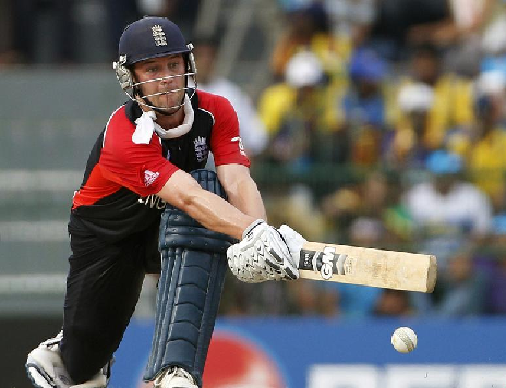 Jonathan Trott was voted the England Cricketer of the Year for 2011