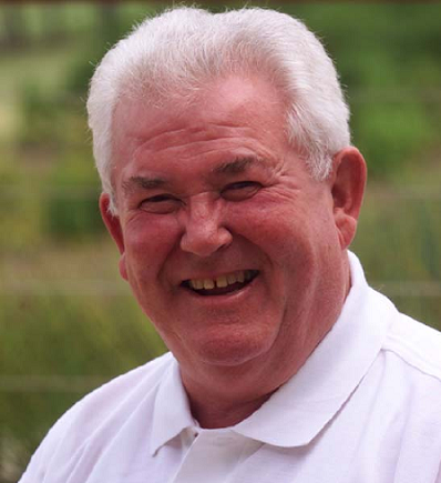 David Shepherd  was awarded the MBE for services to cricket in 1987