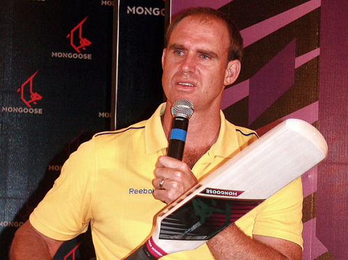 Former Australian Cricketer Matthew Hayden introducing Mongoose Bat