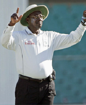 Steve Bucknor holds the record for the most Test matches umpired