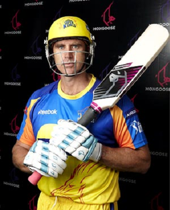 The Mongoose bat was used by Matthew Hayden in the IPL 2010
