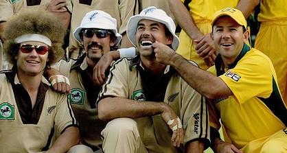 The first Twenty20 match was won by Australia