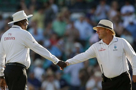 Umpire Mark Benson and Steve Bucknor have come under fire for their performances in the second Test