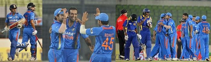 India Vs SL Asia cup 2012.