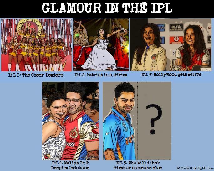 IPL 5 glamour