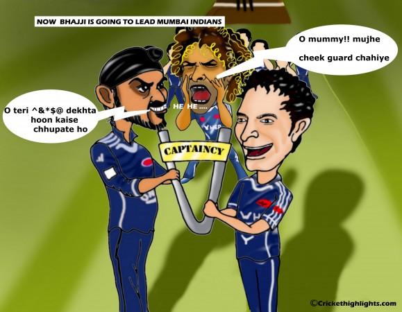 Bhajji - Captain of Mumbai Indians
