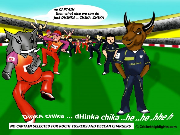 IPL Humor - Dhinka Chaka