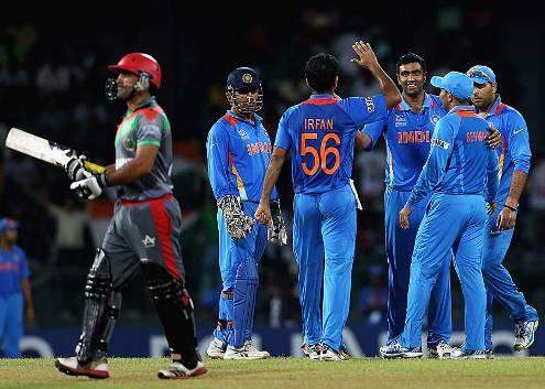 R Ashwin took Samiullah Shenwari wicket