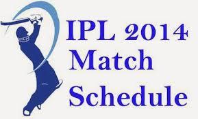 IPL 2014 Schedule logo