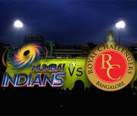 RCB vs MI logo