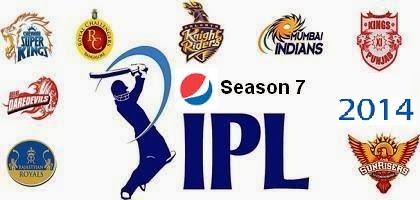 Pepsi IPL 7 2014 logo